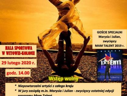 II Ogólnopolski Festiwal Grup Cyrkowych i Akrobatycznych  ESTRADA  2020